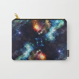 Abstract Galaxy Infinity Carry-All Pouch