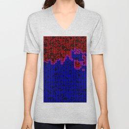 Bleeding Pixels Unisex V-Neck