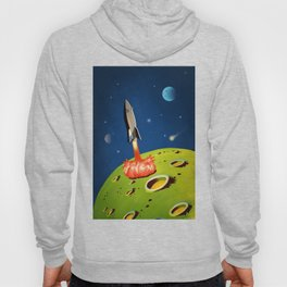 The World Of Outer Space Travel Hoody