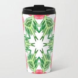 Holly Jolly Christmas Mandala (Large Pattern) Travel Mug