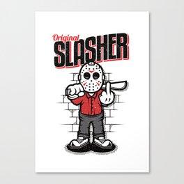 Original Slasher Canvas Print