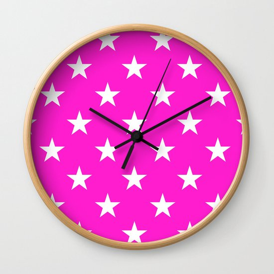Stars (White/Hot Magenta) by 10813apparel