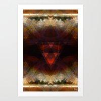 fire emblem Art Prints featuring fire emblem by Paul Juno Art