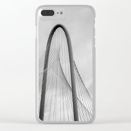 Being pulled in every direction Clear iPhone Case