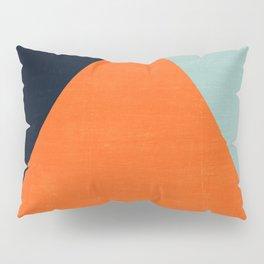 mod triangles - autumn Pillow Sham
