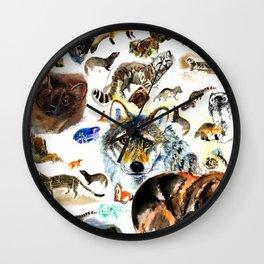 Animal collage  (c) 2017 Wall Clock