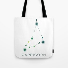CAPRICORN STAR CONSTELLATION ZODIAC SIGN Tote Bag