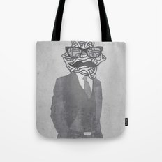 The Gentlemanly Squiggle Tote Bag