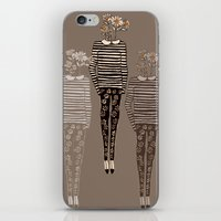 daisy iPhone & iPod Skins featuring Daisy by Bouffants and Broken Hearts
