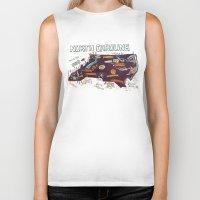 north carolina Biker Tanks featuring NORTH CAROLINA by Christiane Engel
