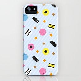 Kawaii Candy Liquorice Allsorts iPhone Case
