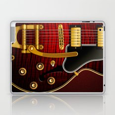 Electric Guitar ES 335 Flamed Maple Laptop & iPad Skin
