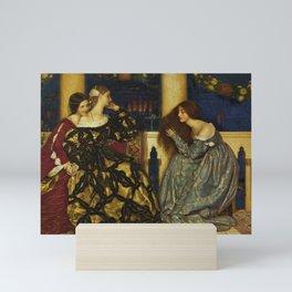 Frank Cadogan Cowper - Venetian ladies listening to the serenade Mini Art Print