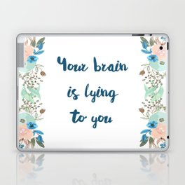 Your brain is lying to you Laptop & iPad Skin