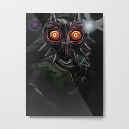 Legend of Zelda Majora's Mask Link Metal Print