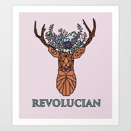 Revolucian - Lucy Cavendish College Art Print