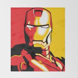 Iron Man Throw Blanket
