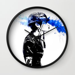 Inked Wall Clock