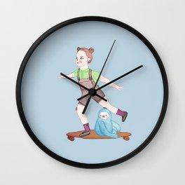 Skater Wall Clock