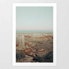 Coal Mine Canyon Art Print