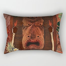 Tiki Party Rectangular Pillow
