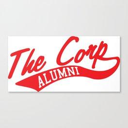Corp Alum (Red) Canvas Print