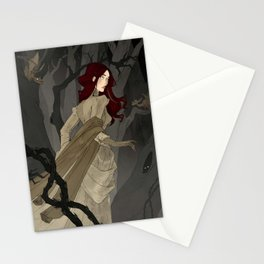The Black Wood Stationery Cards