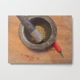 Chilli. Metal Print