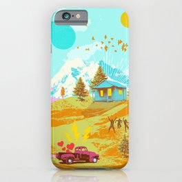 BETTER LAND iPhone Case
