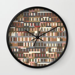Beethoven Moonlight Sonata (Coffee Colours) Wall Clock