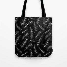 Horsetail grass pattern Tote Bag