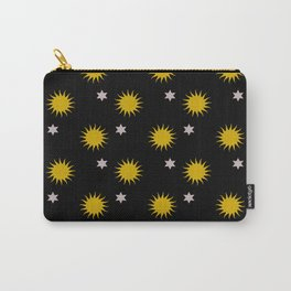 Stars and suns pattern Carry-All Pouch