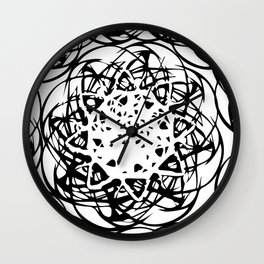 HOLLER OUT Wall Clock