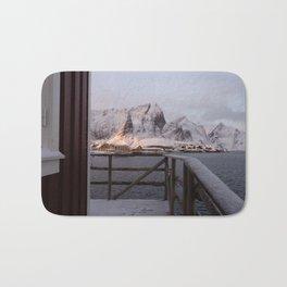 Morning in Lofoten Bath Mat