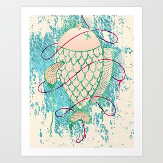 Corocoro Art Print
