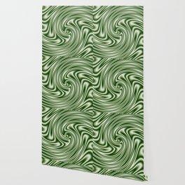 Spearmint Ribbon Candy Fractal Wallpaper