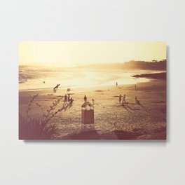 La Barra Sunset Metal Print