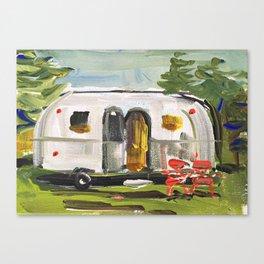 Vintage Airstream Canvas Print
