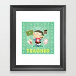 teacher Framed Art Print