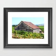 Wine Country Sonoma Framed Art Print