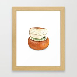 Pecorino Cheese Framed Art Print