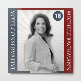 Michele Bachmann For President Metal Print