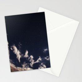 moon lit sky Stationery Cards