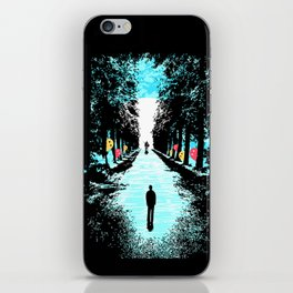 Lonely Walk iPhone Skin