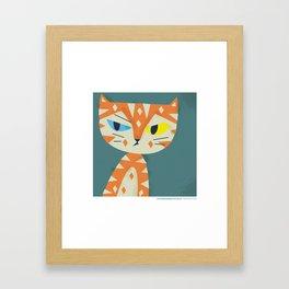 #30daysofcats 5/30 Framed Art Print