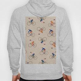 Bike Pattern Hoody