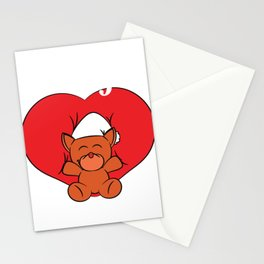 """A Valentine's Tee For Lovers Saying """"I Love You"""" T-shirt Design Stuff Toy Heart Relationship Partner Stationery Cards"""