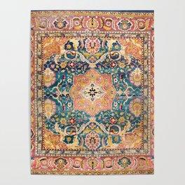Amritsar Punjab North Indian Rug Print Poster