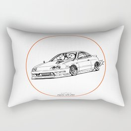 Crazy Car Art 0193 Rectangular Pillow