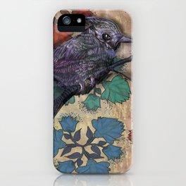 Weird bird iPhone Case
